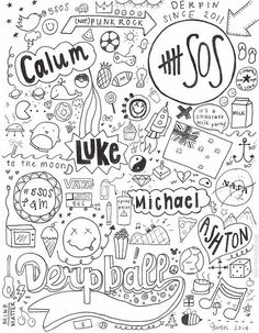5sos collage