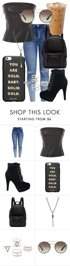 """""""Untitled #208"""" by weirdoqueen on Polyvore featuring Chanel, ban.do, PB 0110, Charlotte Russe and Prada"""