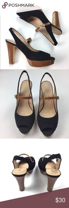 Antonio Melani Faux Suede Slingbacks Sz 6 Cute slingbacks in great condition. Slight wear on some. Please see photos for additional measurements :) ANTONIO MELANI Shoes Heels