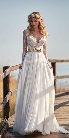 Courtesy of Maison Signore wedding dresses #weddingshoes