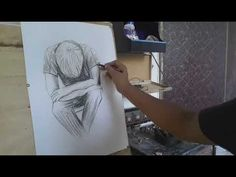 Art & Talk - YouTube Pencil Art, Pencil Drawings, Charcoal Sketch, Art Sketches, How To Draw Hands, Youtube, Art Drawings, Hand Reference, Youtubers