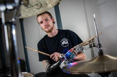 A Robotic Drum Prosthesis Project (Video)
