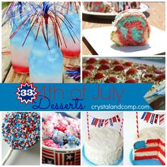 4th of July desserts!