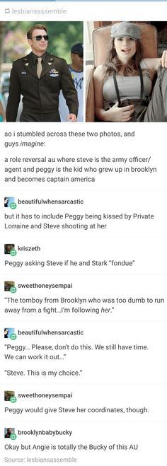 Peggy Carter: Captain America<<< I adore Steve, but if Peggy had been given the serum, the war would have been over in half the time. Marvel Jokes, Marvel Funny, Marvel Dc Comics, Marvel Universe, Hulk, Fandoms, Dc Memes, The Villain, Steve Rogers