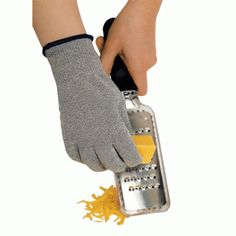 Cut Resistant Glove by Microplane by Microplane at Chef Knife Guru Cooking Tools, Fun Cooking, Safety Gloves, Protective Gloves, The Chew, Knife Sets, Chef Knife, Kitchen Knives, Kitchen Tools