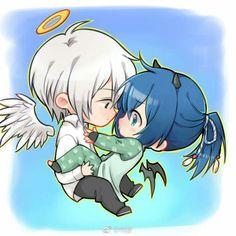 Soul contract  Demonio y angel