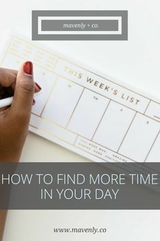 Find more time in your day with this time tracker worksheet. You can increase your productivity and time management with our free worksheet!
