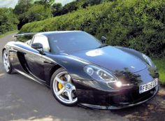 Porsche Carrera GT!! Always raced with this babe in NFS