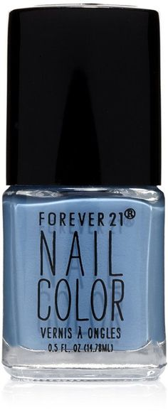 Pin for Later: The Bright and Sunny Nail Polish Shades You'll Be Wearing All Summer  Forever 21 Nail Polish in Stone Blue  ($3)