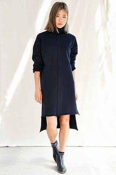 Urban Renewal Remade High Neck Modern Dress - Urban Outfitters