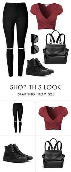 """""""IDC DAY"""" by angel534 on Polyvore featuring Converse, Givenchy and Yves Saint Laurent"""