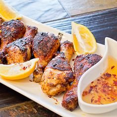 Spicy Roasted Chicken Drumsticks with Honey