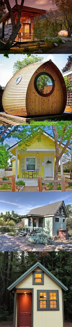 Who says a vacation home has to be big? These 10 tiny houses overflow with personality. | Tiny Homes
