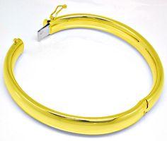 Foto 3, Gelbgold-Armreif Top-Kastenverschluss 14K/585 Shop Neu!, K2900