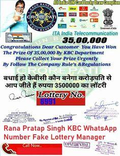 KBC Whatsapp Winner Online