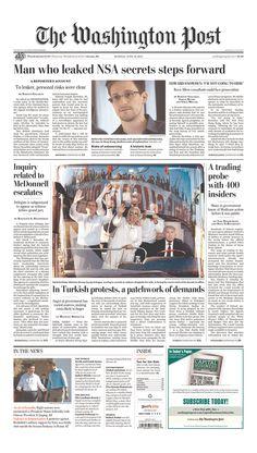 The Washington Post, published in Washington, District of Columbia USA