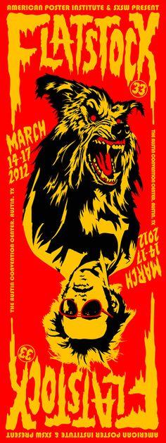 Flatstock 33 poster   by Jeremy Wheeler