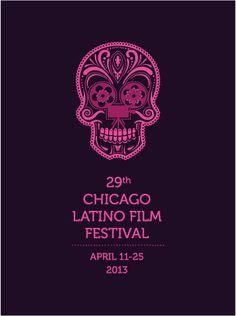 Chicago Latin Film Festival Poster Latino Film Festival, Cannes Film Festival 2015, Film Festival Poster, Banners Music, Short Film Festivals, Creative Portfolio, Chicago, Independent Films, Weird Facts