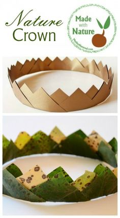 Made with Nature -Nature Crown Craft