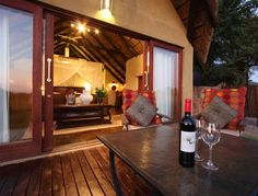 thatched game lodge - Google Search