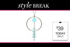 STYLE BREAK! Get the Nadine Necklace for $39.