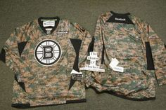 BOSTON BRUINS CAMOUFLAGE REEBOK PREMIER NHL ICE HOCKEY JERSEY X-LARGE NEW  2013 FREE POSTAGE 6fb963bf9