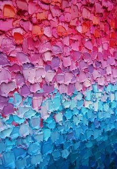 Paige Castile — new painting 'crystal' Art Grunge, Paintings Tumblr, Colorful Paintings, Colorful Abstract Art, Texture Photography, Painting Wallpaper, Pink Art, Texture Art, Art Sketchbook