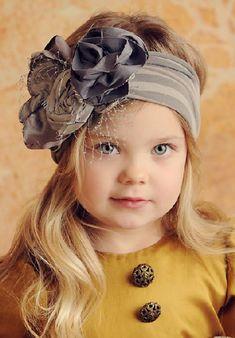 Kız Bebek Saç Bandı Modelleri 50 - Mimuu.com