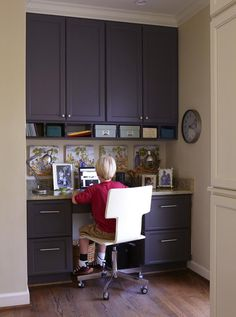 kitchen office storage  Smart Storage in a Kitchen Remodel : Kitchen Remodeling : HGTV Remodels