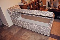 DIY | storage chaise lounge