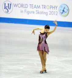 Kanako Murakami  World Team Trophy 2012, SP
