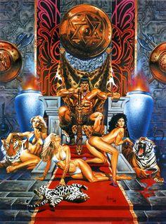 La Espada Salvaje de Conan El Bárbaro / Nº50 / El Sueño de un Imperio / 2004 (Joe Jusko)
