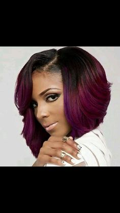 ❤️my next sew-in; love the color