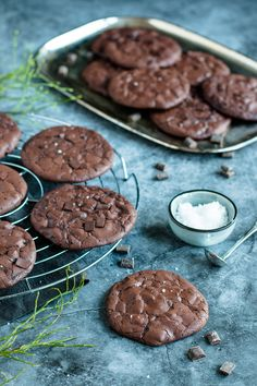 6 Non-Stop Delicious Cookie Bar Recipes Gluten Free Chocolate Cookies, Choco Chip Cookies, Pudding Cookies, Chocolate Chip Muffins, Yummy Cookies, Chocolate Chocolate, Healthy Chocolate, Oatmeal Cookie Bars, Cookies From Scratch