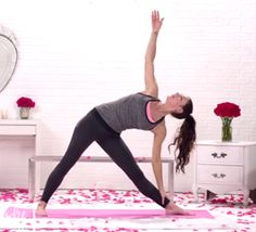 Tone It Up: Love Your Body with Yoga 17 minutes that may kill you but it works.