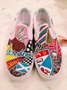 8c499b9b58 University of St. Andrews Custom Sneakers  Sneakers
