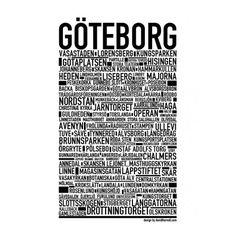 drottningtorget göteborg karta Göteborgskarta poster i gruppen Rum / Hall / Inredningsdetaljer  drottningtorget göteborg karta