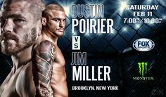 UFC 208 Brooklyn New York. Dustin Poirier vs Jim Miller. SteemSports.com