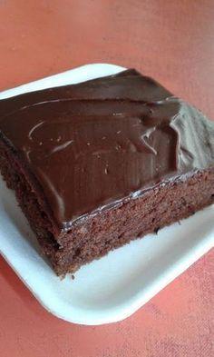 Csokikrémes, kefires kocka