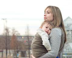 the sling diaries: erica and ferris babywearing connection! #sakurabloom