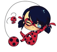 Ladybug and Tikki