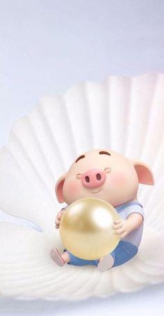 Pig Wallpaper, Disney Wallpaper, This Little Piggy, Little Pigs, Kawaii Pig, Cute Piglets, Wonder Art, Pig Drawing, Pig Illustration