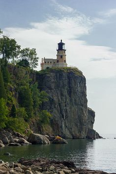 """Split Rock Lighthouse"" photo by Penny Meyers.  Fine art prints and greeting cards from Fine Art America."