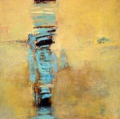 """Abstract Artists International: Contemporary Abstract Expressionism Art Painting """"Sahara"""" by Abstract Artist Lela Kay"""