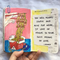 The Typewriter Daily - words and art (Posts tagged poemsporn) Bullet Journal Writing, Bullet Journal Ideas Pages, Art Journal Pages, Drawing Journal, Journal Entries, Notebook Art, Notebook Quotes, Poetry Journal, Pomes