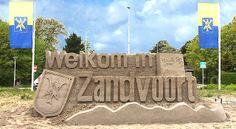EK Kampioenschap Zandsculpturen in Zandvoort