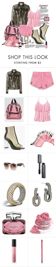 """Summer Booties"" by marionmeyer ❤ liked on Polyvore featuring Carven, Missguided, Gap, Boohoo, Bobbi Brown Cosmetics, John Hardy, Gucci, Bare Escentuals, Urban Decay and OPI"