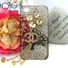 $8.43 transparent diamond rhinestone iphone case from zzkko.com