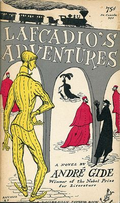 "Gide, André ""Lafcadio's Adventure""  Cover By Edward Gorey"