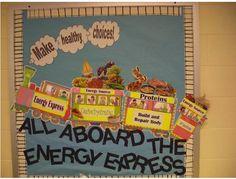 School Cafeteria Bulletin Board